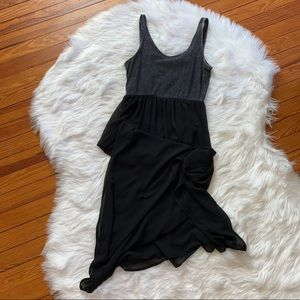 H&M Dresses - H&M black and gray acid wash dress medium 8